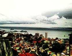 vista desde los cerros al mar
