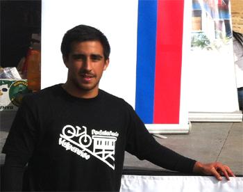 Jaime Lobos, estudiante ingeniería comercial PUCV