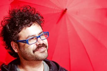Foto de Danny Rayman Labrin, sesión para Rocanrol Magazine