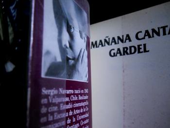 """""""Mañana canta Gardel"""" de Sergio Navarro"""