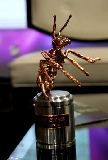 La hormiga de cobre es el galardón de Nanometrajes