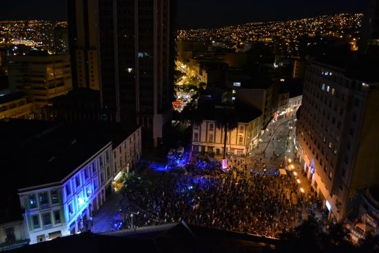 Plaza Aníbal Pinto de Valparaíso. Fotografía: Jorge Severino