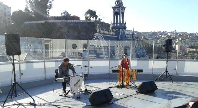 Alvaro Peña y Pascuala Ilabaca en el CNCA. Foto: Ritoque FM