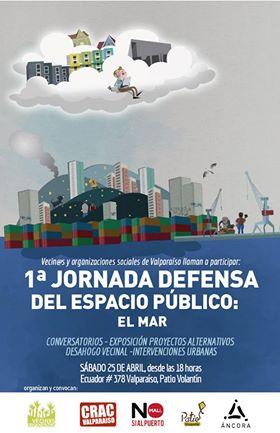 Jornada Defensa del espacio Publico el Mar