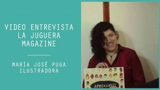 Video entrevista: María José Puga, de Loba tienda/galería y Festival de Ilustración Apocalipsis