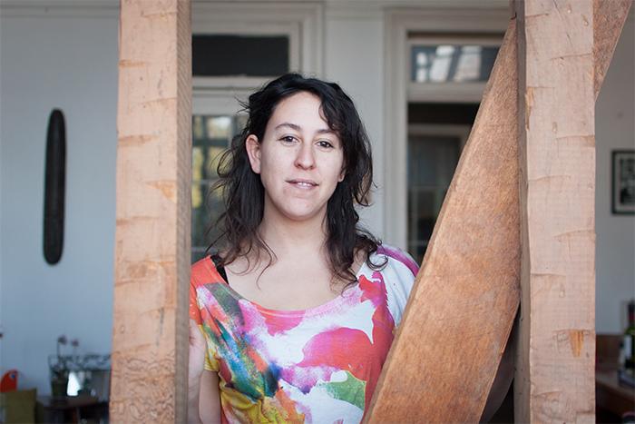 Carolina Lafuentes, feminista desde los 27 años.