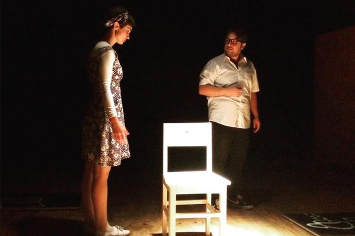 Intolerables, montaje de La CompaÑÑía Teatro. Fotografía de Alejandra Delgado