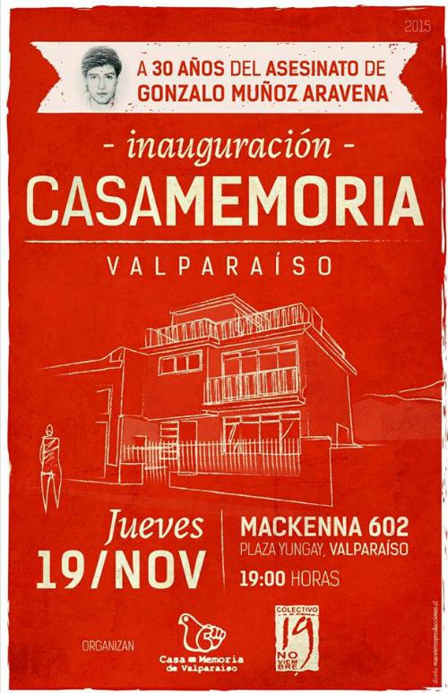 LJM-Afiche Inauguración Casa-Memoria