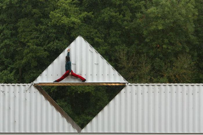 """""""Origami"""", fotografía de Frédéric David"""