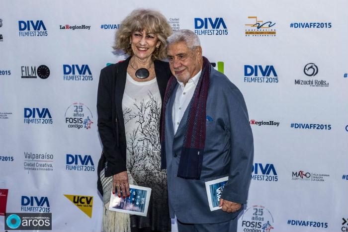 Julio Jung y Tessa Aguade en el pasado DIVA Fim Fest 2015.