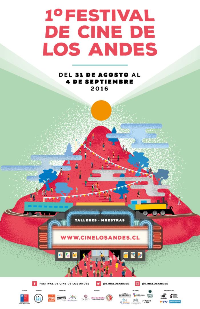 afiche festival de cine los andes