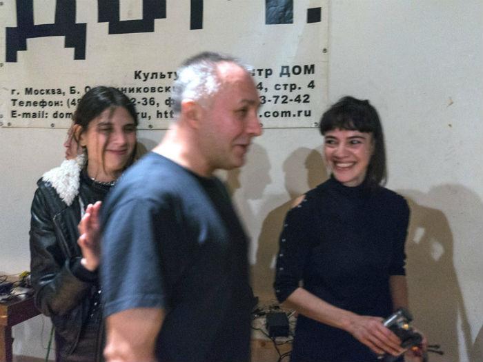 Alejandra Pérez en Dom Center, Moscu.