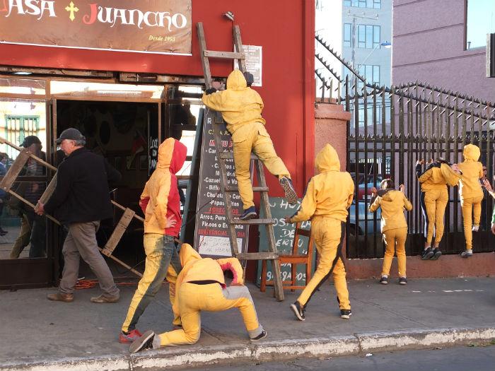 En el Día de la Danza Escenalborde presenta Intervenciones urbanas en La Calera y Quintero