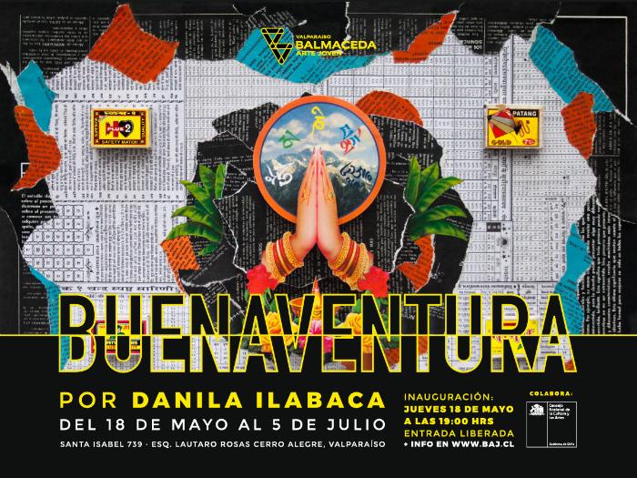 Flyer Buenavuentura Danila Ilabaca - BAJ