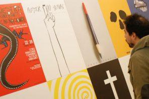 Los carteles de Juan Madriz, un golpe al ojo