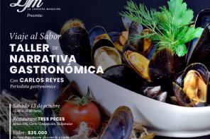 Inscríbete en el Taller de narrativa gastronómica