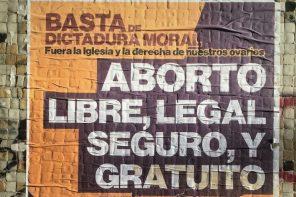 Aborto: El derecho a decidir en paz