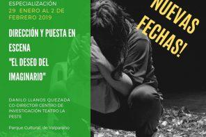 Dos creadores teatrales hablan sobre su imaginario desde Valparaíso