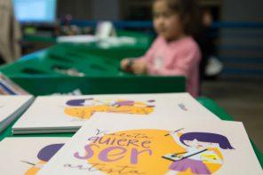Pensamientos a propósito del libro «Violeta quiere ser artista»