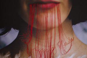 74 nudos de Carolina Agüero: Fotobordados contra la violencia hacia las mujeres