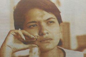 """María Emilia Cornejo, poeta peruana: """"Soy la muchacha mala de la historia"""""""